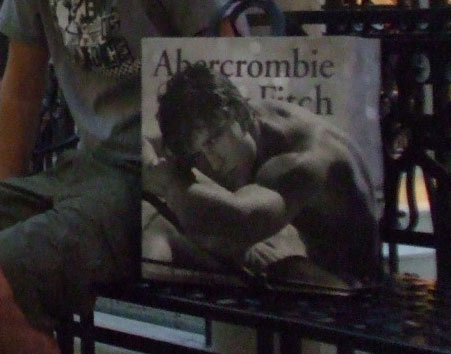 Abercrombie & Fitch Mode Label aus den USA New York