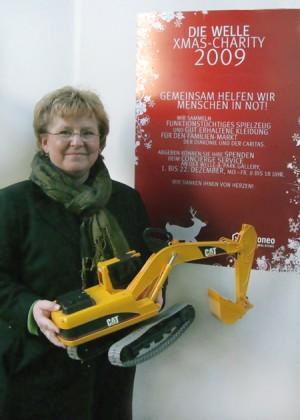 (Foto: DIE WELLE) Petra Spöck vom Caritasverband Frankfurt e.V.