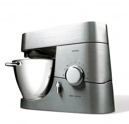 Formschönes Design und bester Bedienkomfort - Die neue Kenwood Chef Titanium Event KM 013.