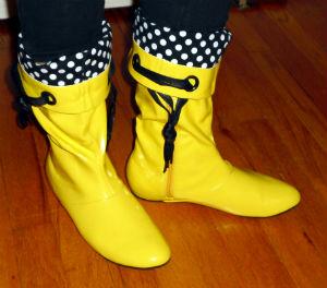 best website 849b7 0f486 Ankle-Boots / Bunte Gummistiefel – Trends der Schuhmesse in ...